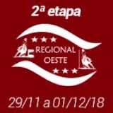 2ª Etapa XIX Campeonato Regional Oeste