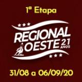 1ª Etapa XXI Campeonato Regional Oeste