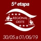 5ª Etapa XIX Campeonato Regional Oeste