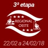 3ª Etapa XVIII Campeonato Regional Oeste