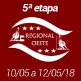 5ª Etapa XVIII Campeonato Regional Oeste