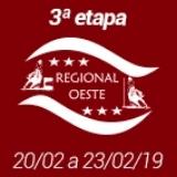 3ª Etapa XIX Campeonato Regional Oeste