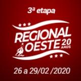 3ª Etapa XX Campeonato Regional Oeste