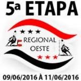 5ª ETAPA XVI CAMPEONATO REGIONAL OESTE
