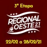 3ª Etapa XXI Campeonato Regional Oeste