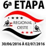 6ª ETAPA XVI CAMPEONATO REGIONAL OESTE
