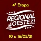 4ª Etapa XXI Campeonato Regional Oeste