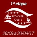 1ª Etapa XVIII Campeonato Regional Oeste